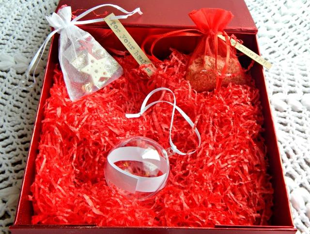 Inside Christmas Box